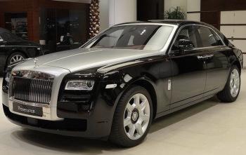 Rolls Royce Ghost | Wynajem do ślubu, Samochód, auto do ślubu, limuzyna Nowe Warpno