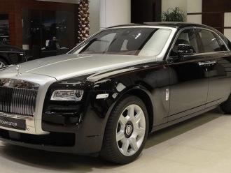 Rolls Royce Ghost | Wynajem do ślubu,  Szczecin