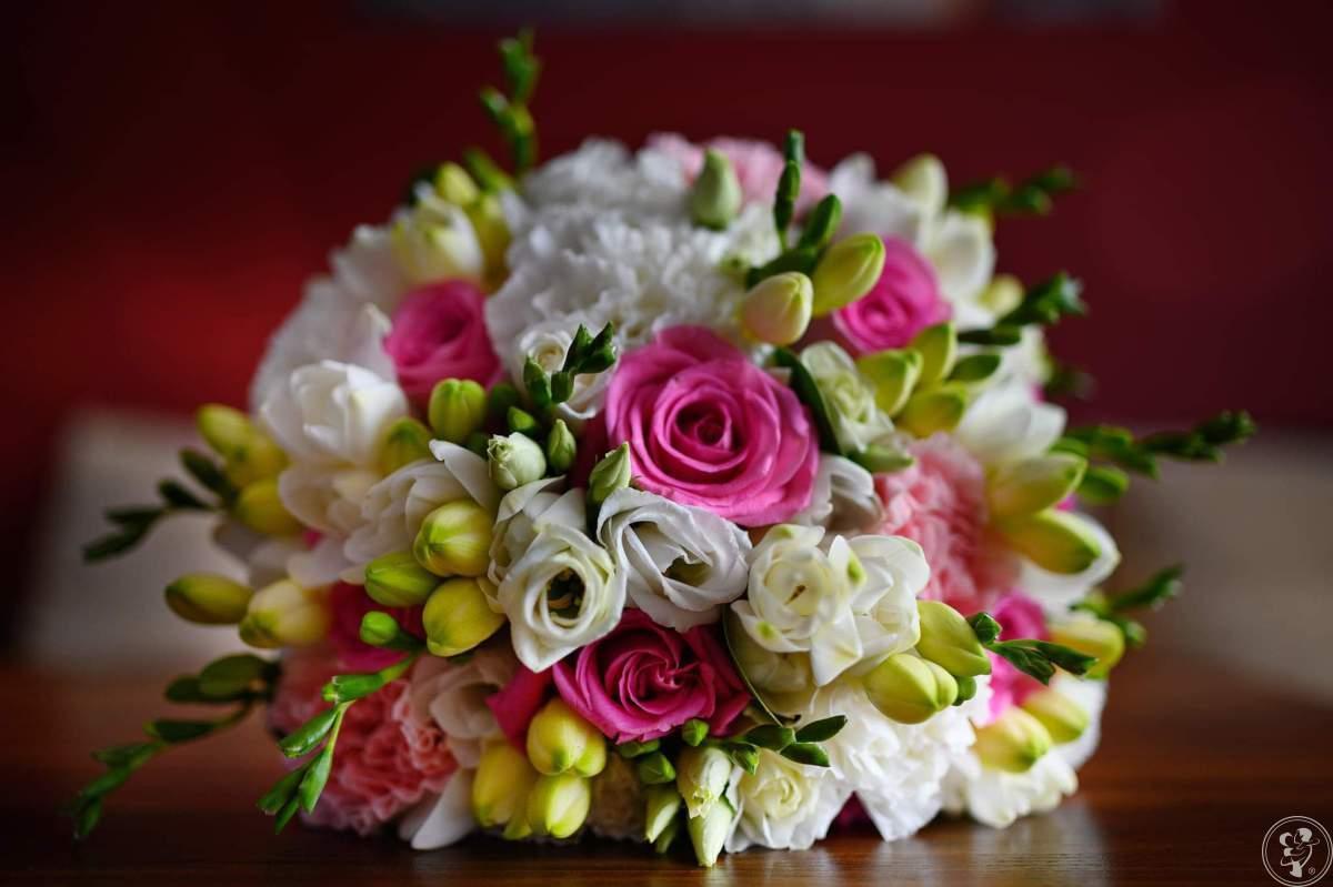 Bukiety ślubne, dekoracje kwiatowe sal , kościołów, aut., Ostrów Wielkopolski - zdjęcie 1