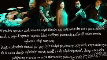 Zespół Kryptonim - najlepszy zespół na Twoje wesele:), Zespoły weselne Toszek