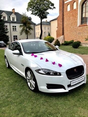 Auto do ślubu  - Jaguar XF R-SPORT, samochód do ślubu, Samochód, auto do ślubu, limuzyna Łomża