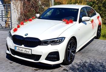 Luksusowe białe BMW do Ślubu! Najnowszy model !, Samochód, auto do ślubu, limuzyna Jędrzejów