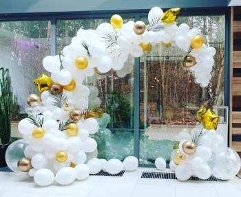 Balony z helem / Ledowe / Dekoracje Balonowe, Dekoracje ślubne Nowa Sól