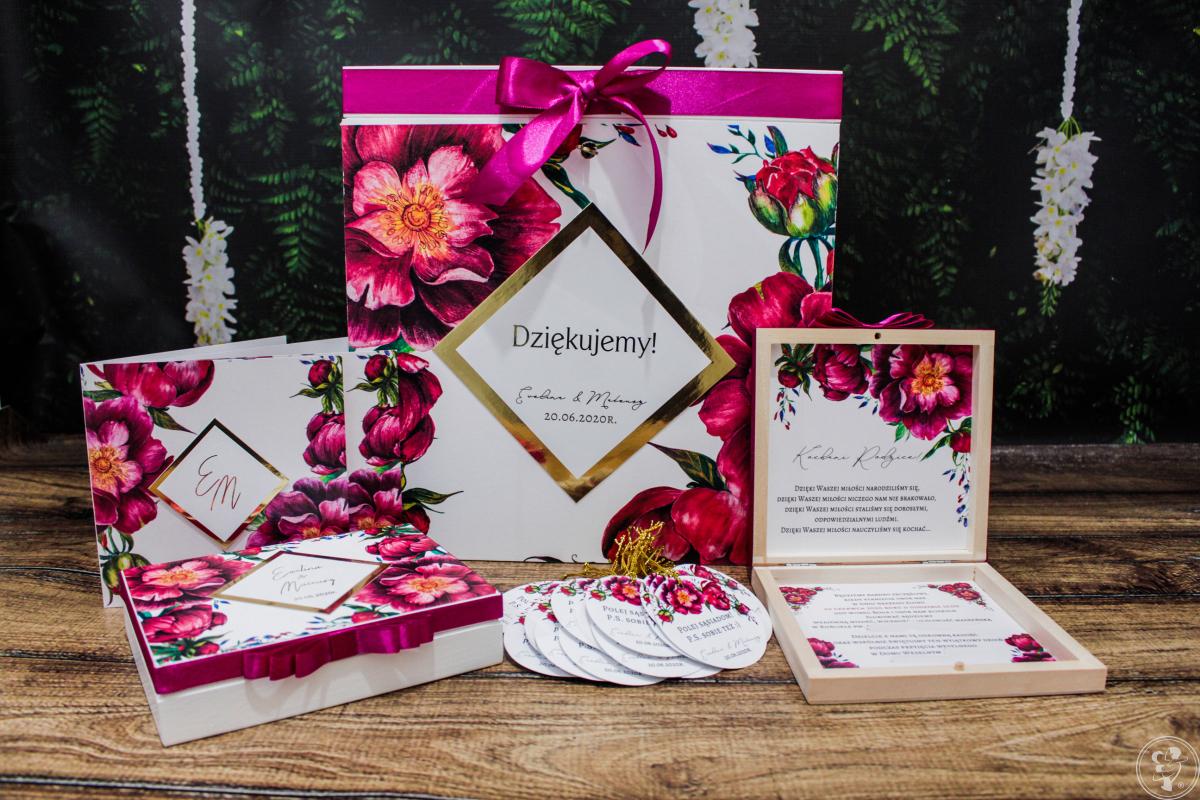 Zaproszenia / Winietki / Menu weselne / 150 gotowych wzorów i modeli, Nowy Sącz - zdjęcie 1