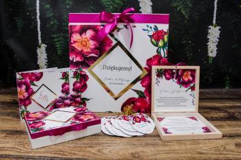 Zaproszenia / Winietki / Menu weselne / 150 gotowych wzorów i modeli, Zaproszenia ślubne Dobczyce