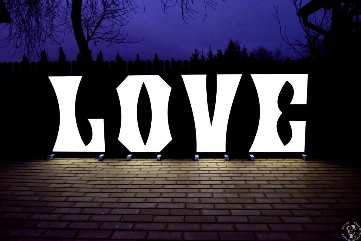 Podświetlane Litery LOVE - Produkcja na zamówienie // Duży Napis Love, Olecko - zdjęcie 1