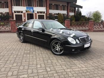 Auto do Ślubu Limuzyna Mercedes W211 Samochód na wesele, Samochód, auto do ślubu, limuzyna Mordy