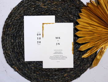 Metier- Pracownia Zaproszeń, Zaproszenia ślubne Skała