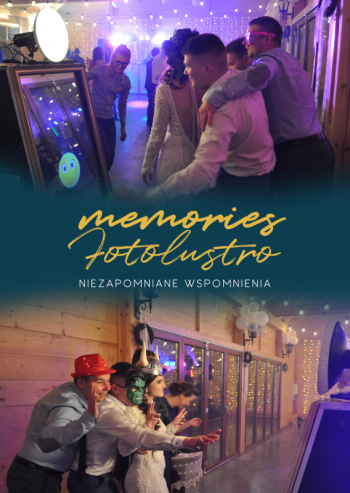Memories Fotolustro- atrakcja na wesele eventy urodziny osiemnastki, Fotobudka, videobudka na wesele Poznań