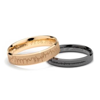LARU wyjątkowe w pełni personalizowane obrączki., Obrączki ślubne, biżuteria Żukowo