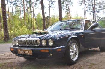 Elegancki Jaguar XJ8, Samochód, auto do ślubu, limuzyna Kruszwica