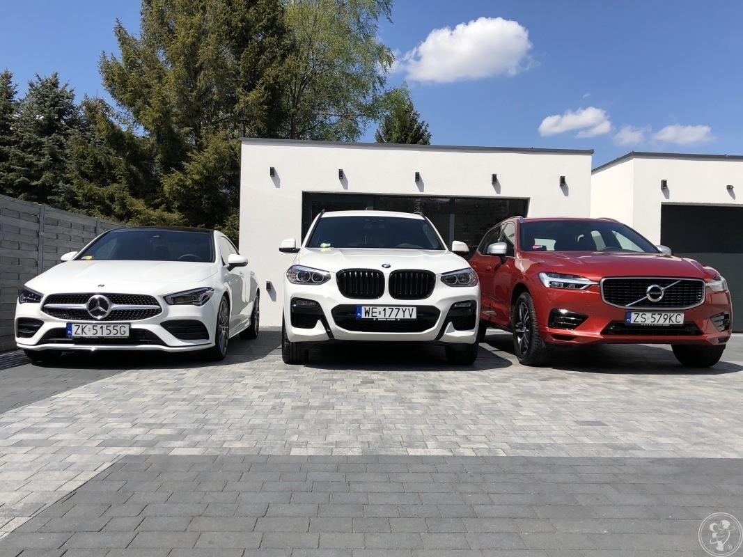 Auta do ślubu- Mercedes CLA / BMW X3 / Volvo XC60, Koszalin - zdjęcie 1