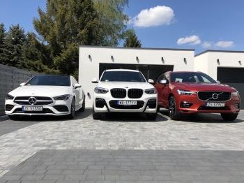 Auta do ślubu- Mercedes CLA / BMW X3 / Volvo XC60, Samochód, auto do ślubu, limuzyna Węgorzyno