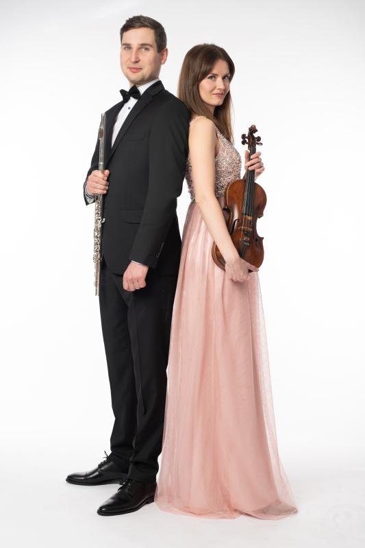 Sensual Duo | duet flet skrzypce | profesjonalna oprawa muzyczna, Wrocław - zdjęcie 1
