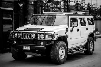 HUMMER H2, Samochód, auto do ślubu, limuzyna Wyśmierzyce