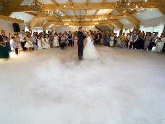 Ciężki dym. Fotobudka Lustro. Dekoracje weselne.,  Ogrodzieniec