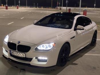 BMW 6 *BIAŁA* PERŁA, Samochód, auto do ślubu, limuzyna Starachowice