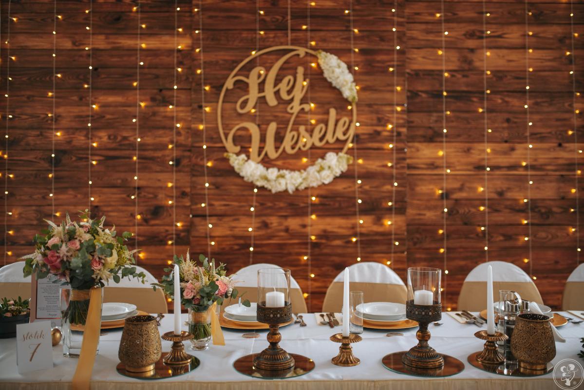 Dekoracja sali,kościoła dekoracja światłem, napis love, bukiet, Kłodzko - zdjęcie 1