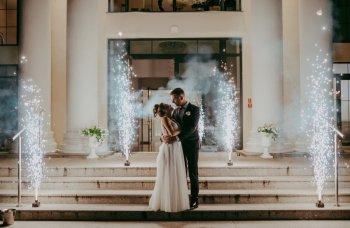 Iskry Sceniczne na wesele,Pirotechnika, Unikatowe atrakcje Tuchow