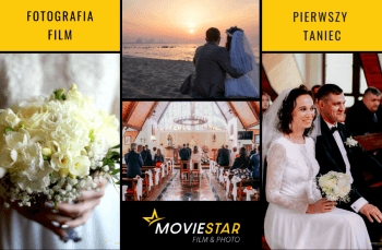 MovieStar - film + fotografia, pierwszy taniec (ujęcia z drona), Fotograf ślubny, fotografia ślubna Żukowo