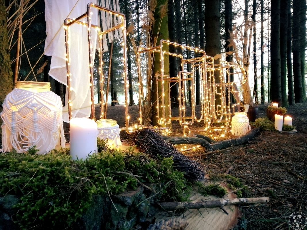 Nietypowy napis LOVE, boho rusytykalny miedziany, Dąbrowa Białostocka - zdjęcie 1
