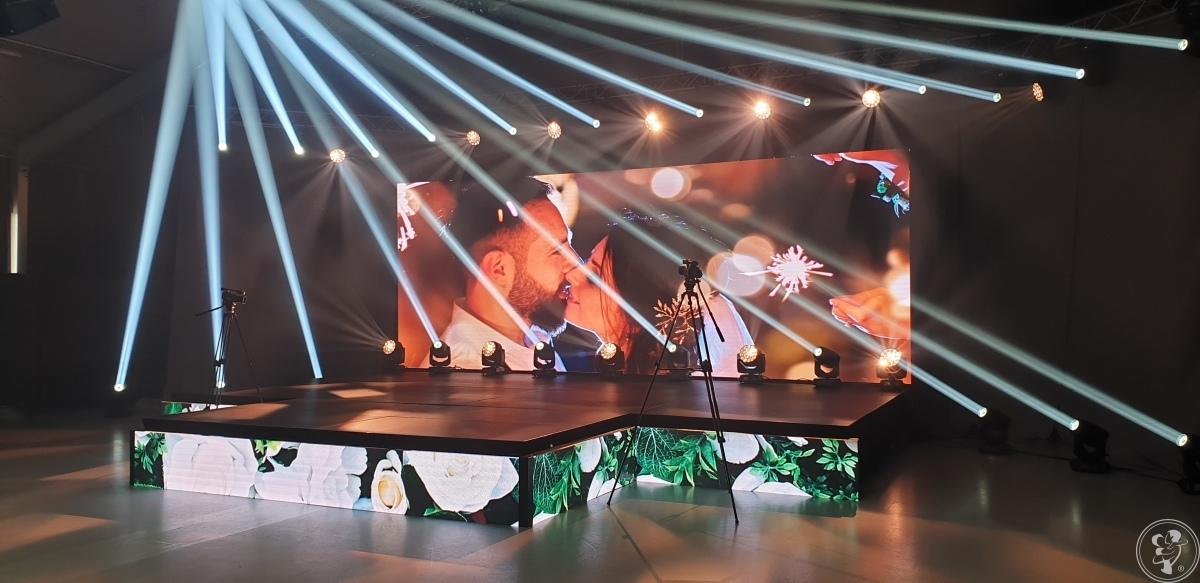 Ekran / ekrany LED na wesele, Wrocław - zdjęcie 1