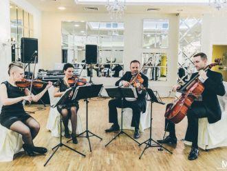 Kwartet smyczkowy INSANO, oferta oprawy muzycznej,  Warszawa