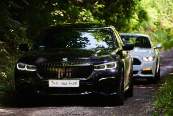 BMW 7 2020 r. FORD MUSTANG lub Chevrolet Camaro, Samochód, auto do ślubu, limuzyna Nowy Sącz