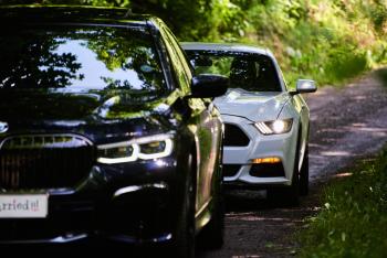 BMW 7 2020 r. FORD MUSTANG lub Chevrolet Camaro, Samochód, auto do ślubu, limuzyna Limanowa