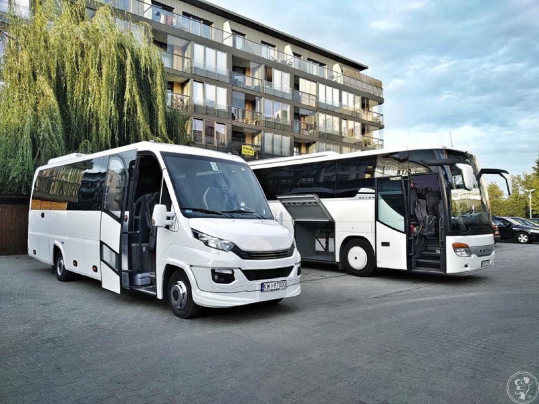 M bus - wynajem busów i autokarów, transport gości weselnych, Kraków - zdjęcie 1