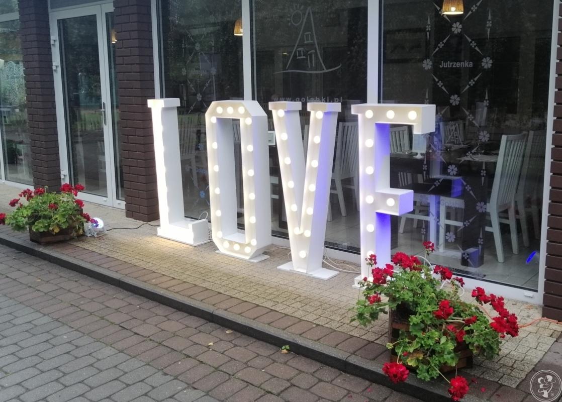 Napis LOVE - wynajem, Janikowo - zdjęcie 1