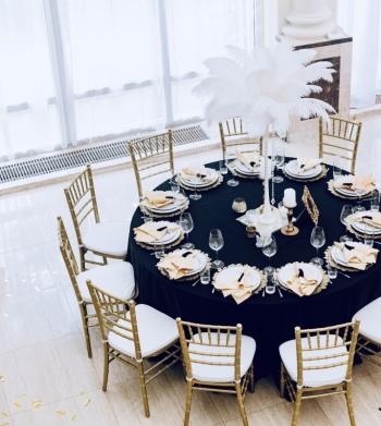 Dekoracje ślubne sali weselnej i kościoła MarieDecor