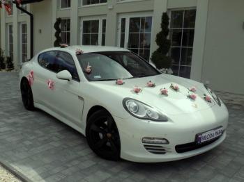 Porsche Panamera, auto, samochód do ślubu na wesele i do ślubu, Samochód, auto do ślubu, limuzyna Żabno