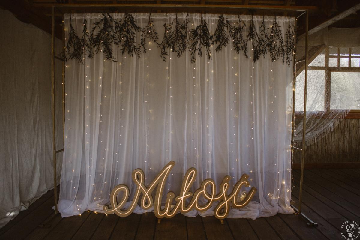 bazar wypożyczalnia - dekoracje ślubne, weselne, napis miłość, Bochnia - zdjęcie 1
