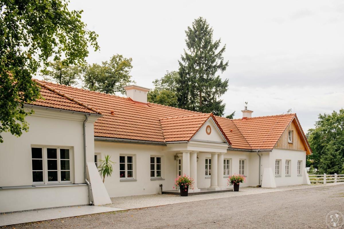 Dwór Amelii-XVIII-wieczny pięknie odnowiony zabytek w rozległym parku., Ruda Kościelna - zdjęcie 1