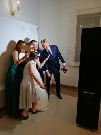 Fotobudka Selfie-room, Fotobudka, videobudka na wesele Głowno