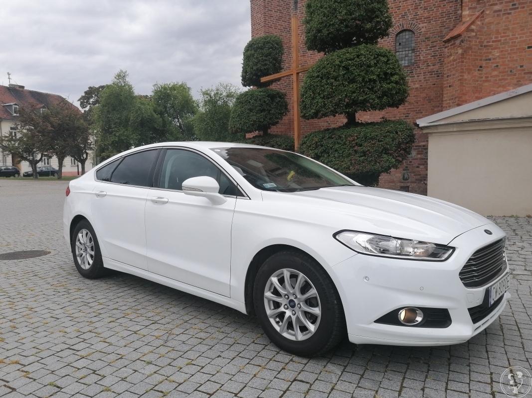 Auto do ślubu biały Ford Mondeo, Włocławek - zdjęcie 1