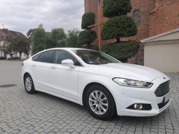 Auto do ślubu biały Ford Mondeo, Samochód, auto do ślubu, limuzyna Chodecz