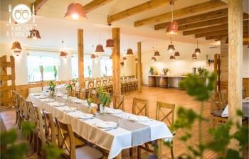 Karczma u Garncarzy - Świetna kuchnia i miejsce w folkowym klimacie, Sale weselne Lesko