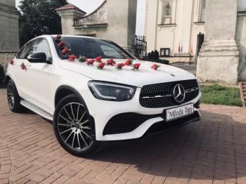 Auto do Ślubu Mercedes GLC Coupe AMG 2020 Wyjatkowy, Samochód, auto do ślubu, limuzyna Ciechanowiec