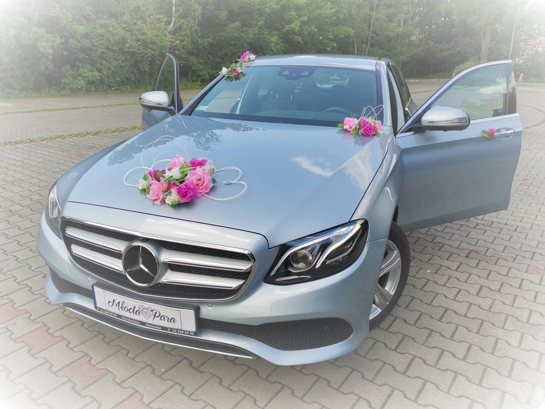 Mercedes E Klasa samochód do ślubu w nietuzinkowym kolorze, Katowice - zdjęcie 1