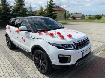 Samochód do ślubu Range Rover EVOQUE z panoramicznym dachem, Samochód, auto do ślubu, limuzyna Tarnowskie Góry