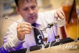 drink bar  weselny Dragon, Pokaz barmański na weselu Brzostek