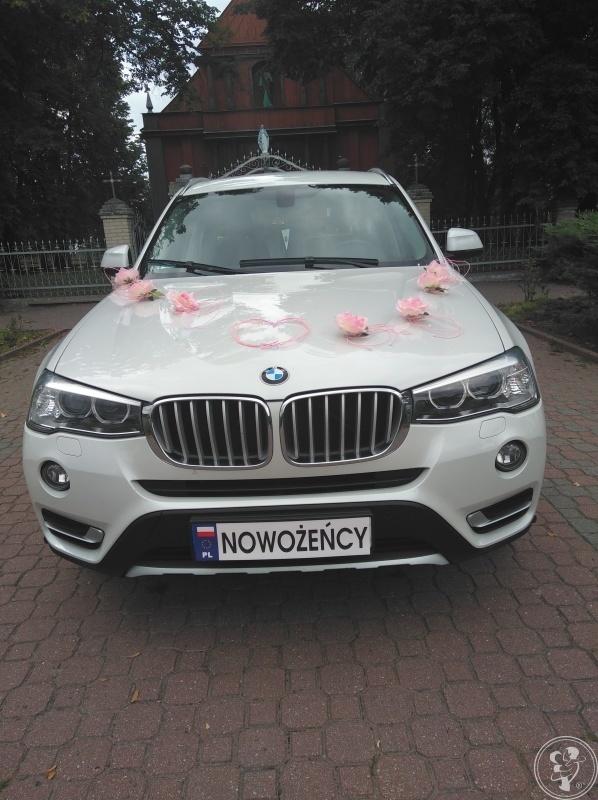 Białe BMW X3xDrive20d  do Ślubu, Wysokie - zdjęcie 1