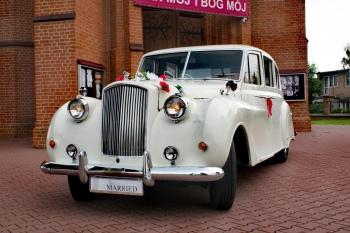 Zabytkowy Austin Princess do Ślubu, Samochód, auto do ślubu, limuzyna Lubliniec