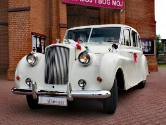 Zabytkowy Austin Princess do Ślubu,  Częstochowa