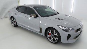 Nowa Kia Stinger Ceramic Grey, Samochód, auto do ślubu, limuzyna Kielce