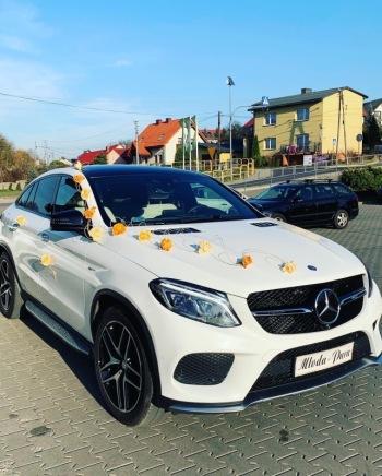 Piękny Mercedes GLE Coupe AMG, Samochód, auto do ślubu, limuzyna Zawiercie