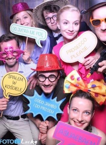 FOTOLUSTRO Foto Lucky- najlepsza jakość, najlepsza zabawa!, Fotobudka, videobudka na wesele Białogard