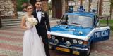 Auto z PRL, Milicja do Ślubu, Fiat 125p - zabytkowy, Częstochowa - zdjęcie 2